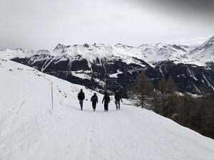 BEEs on Tour: Teamevent in Grimentz