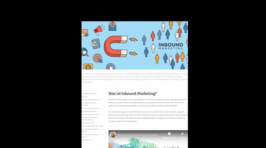 Inbound Marketing - Der ultimative Guide