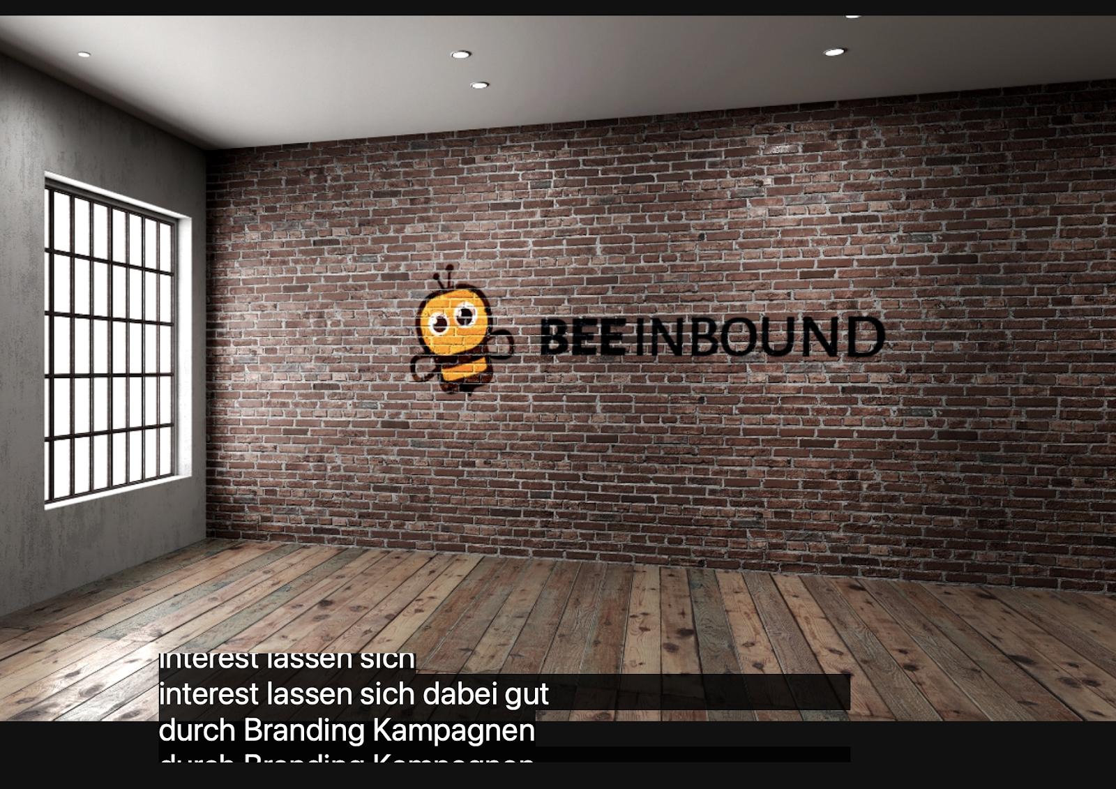 photo BEE Inbound background