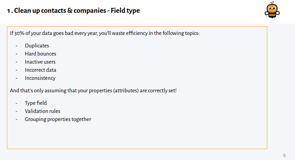 Field types