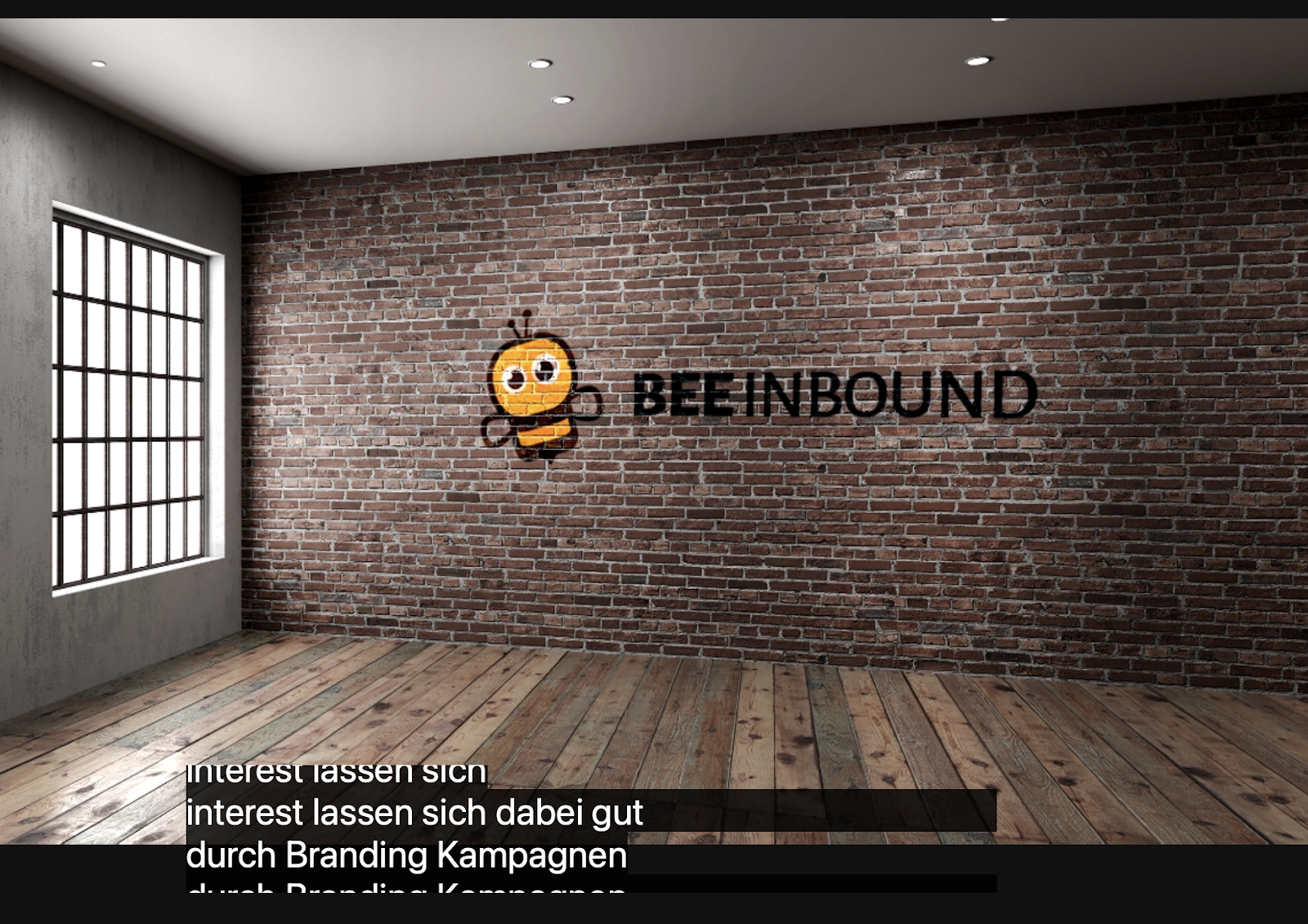 photo BEE Inbound background
