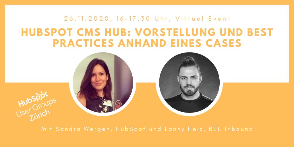 HubSpot CMS Hub: Vorstellung und Best Practices anhand eines Cases