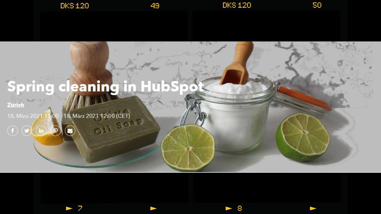 Best Practices für die Datenbereinigung in HubSpot